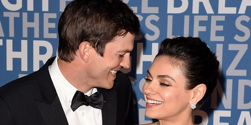 Mila kunis ashton kutcher red carpet main