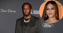 Diddy On Red Carpet Beyonce Inset