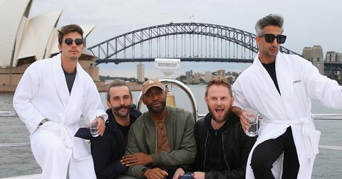 Queer eye cast defend ariana grande pete davidson engagement hero