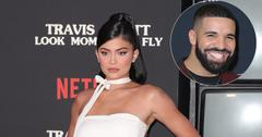 Kylie Jenner On Red Carpet Drake Inset