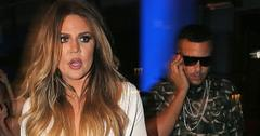 Khloe Kardashian and French Montana board a yacht in NYC with the rest of the family