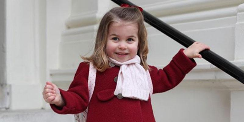 princess charlotte first day school pics pp