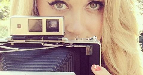 Lauren conrad engagement ring selfie
