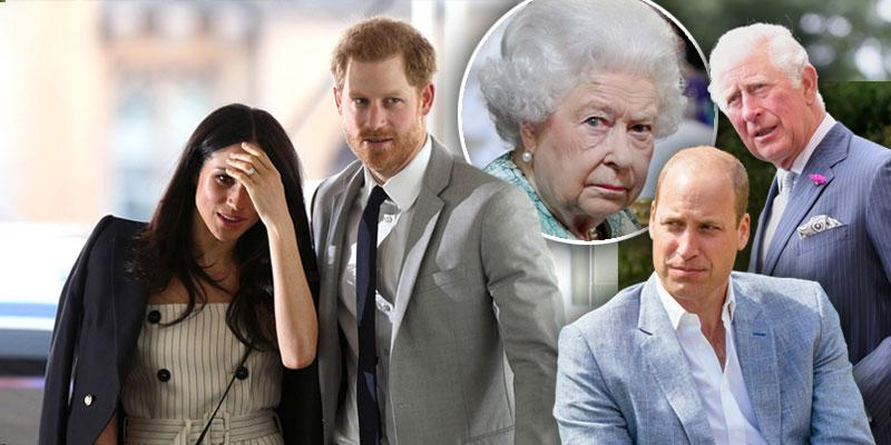 The Shocking Royal Scandals Of 2020, 'Megxit' To 'The Crown' Photos