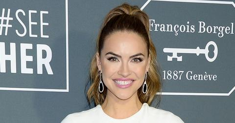 Chrishell Stause Wearing White