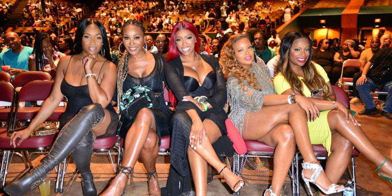 RHOA Cast at Caribana