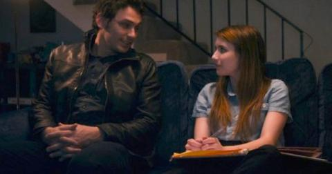 James Franco and Emma Roberts in Palo Alto