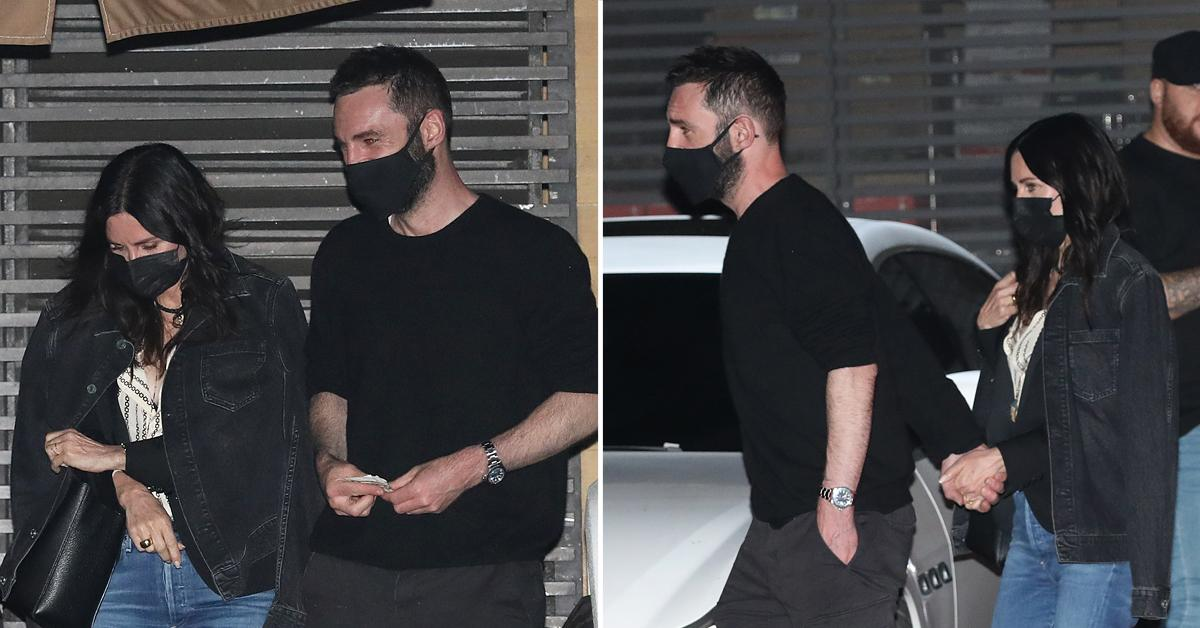 courteney cox and johnny mcdaid have a romantic dinner date at nobu malibu ok