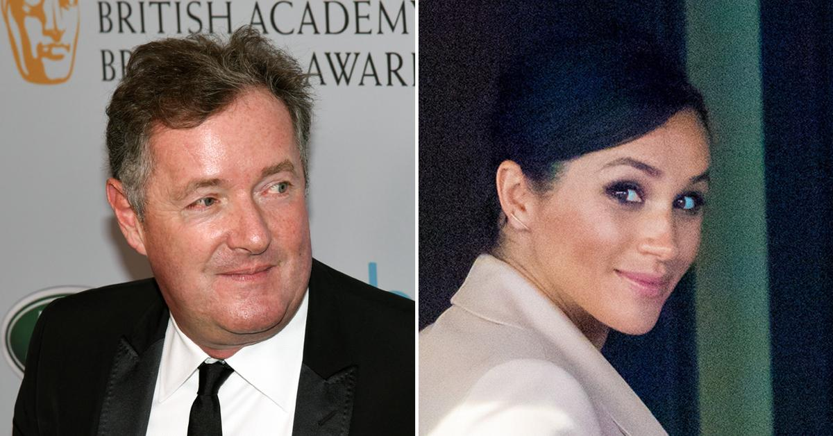 piers morgan storms off good morning britain questioning meghan markle suicidal thoughts pf