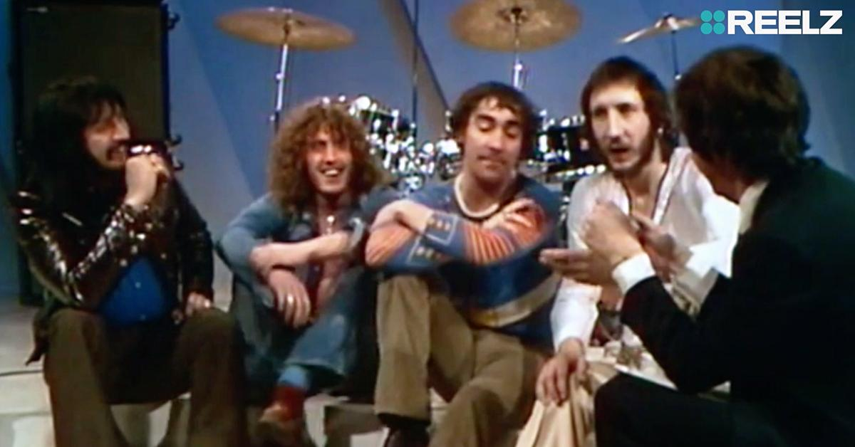 reelz the who breaking the band