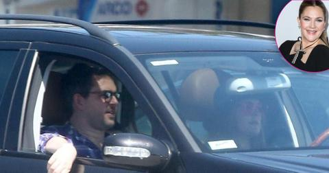 *EXCLUSIVE* Drew Barrymore is spotted with new boyfriend David Hutchinson in LA