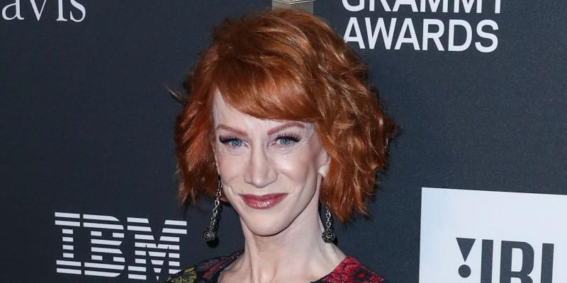 Kathy Griffin On A Red Carpet
