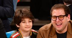 Jonah hill knicks game post pic