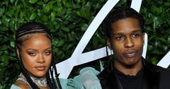 Rihanna & A$AP Rocky Stun At The 2019 British Fashion Awards