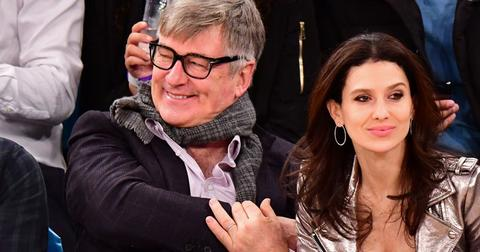 Alec baldwin knicks rockets post pic