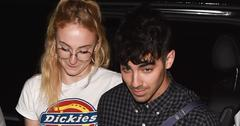 Joe Jonas And Sophie Turner Dine In Paris