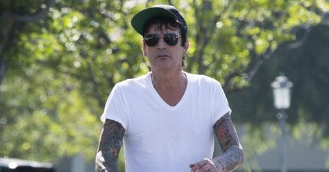 tommy lee son brandon assaulted him pp
