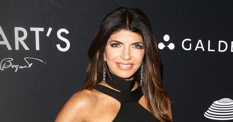 RHONJ Teresa Giudice holiday photo Luis Ruelas