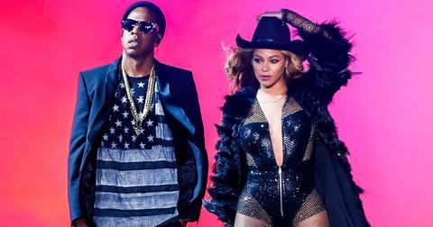 Beyonce on the run tour 2