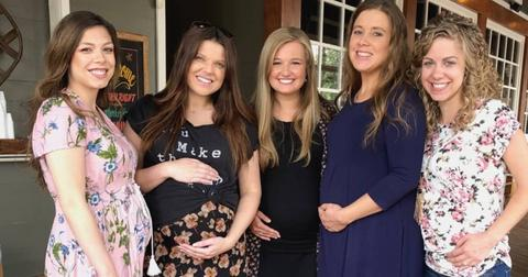 //Duggar Baby Bump Photo PP