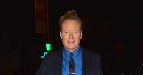 Conan O'Brien Shows Off a New Book He Has Been Reading