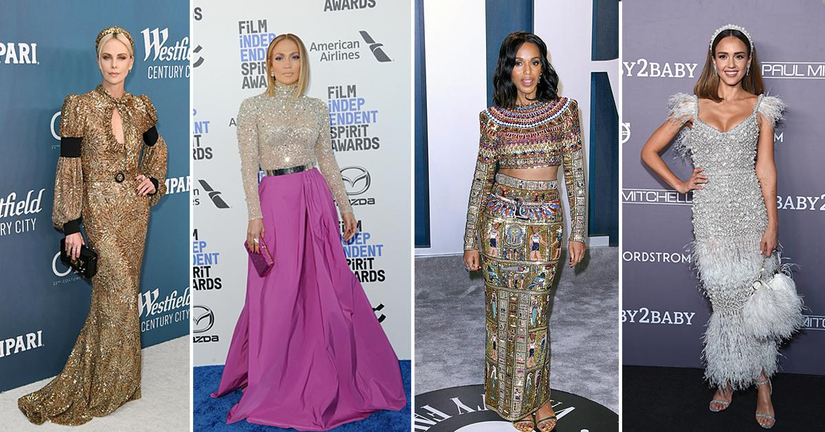 red carpet trends embellishments fashion gowns style