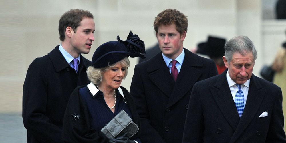 Prince William, Camilla Parker Bowles, Prince Harry and Prince Charles