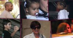 Kardashian Kids Family Christmas Photoshoot
