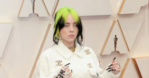 Billie Eilish at the 92nd Academy Awards