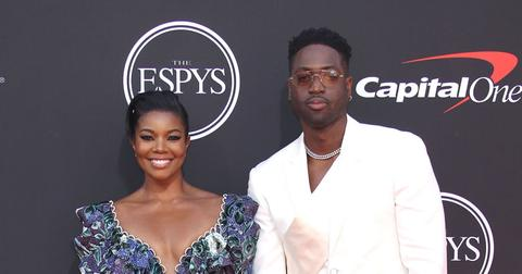 Dwyane Wade And Gabrielle Union On Red Carpet