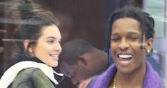 Kendall Jenner and ASAP Rocky shop together in the Diamond District