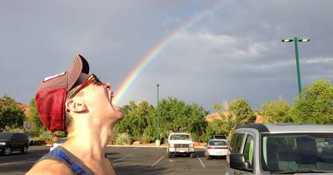 Now THIS is how you capture a rainbow!
