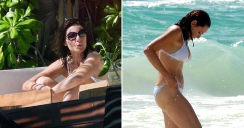 rhony luann de lesseps shows off bikini body mexico pf