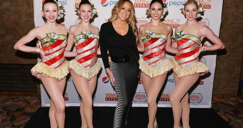 """Mariah Carey Attends iHeartMedia New York's LITE FM """"Flip The Switch"""" Event, Celebrating The Station's Annual Flip To Holiday Music, Presented By Pepsi And The Christmas Spectacular Starring The Radio City Rockettes"""