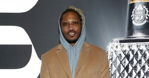 Future On Red Carpet At Brooklyn Nets Game