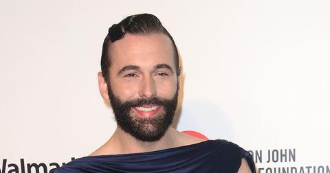 Jonathan Van Ness Wearing Black