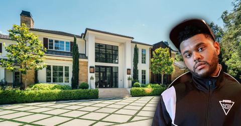 the weeknd lists hidden hills home pf