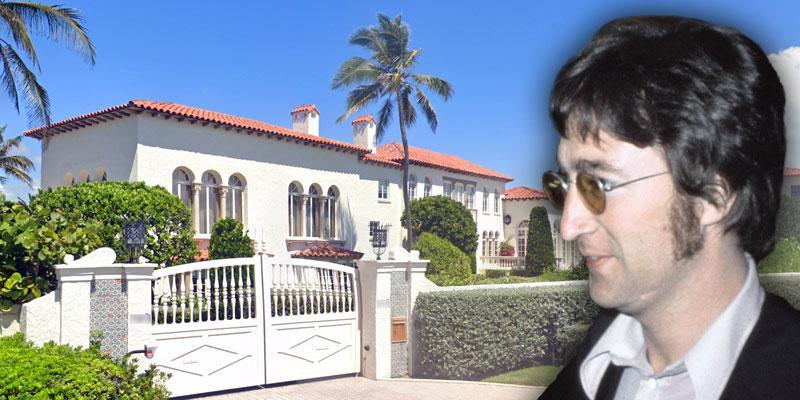 john lennon palm beach mansion sold