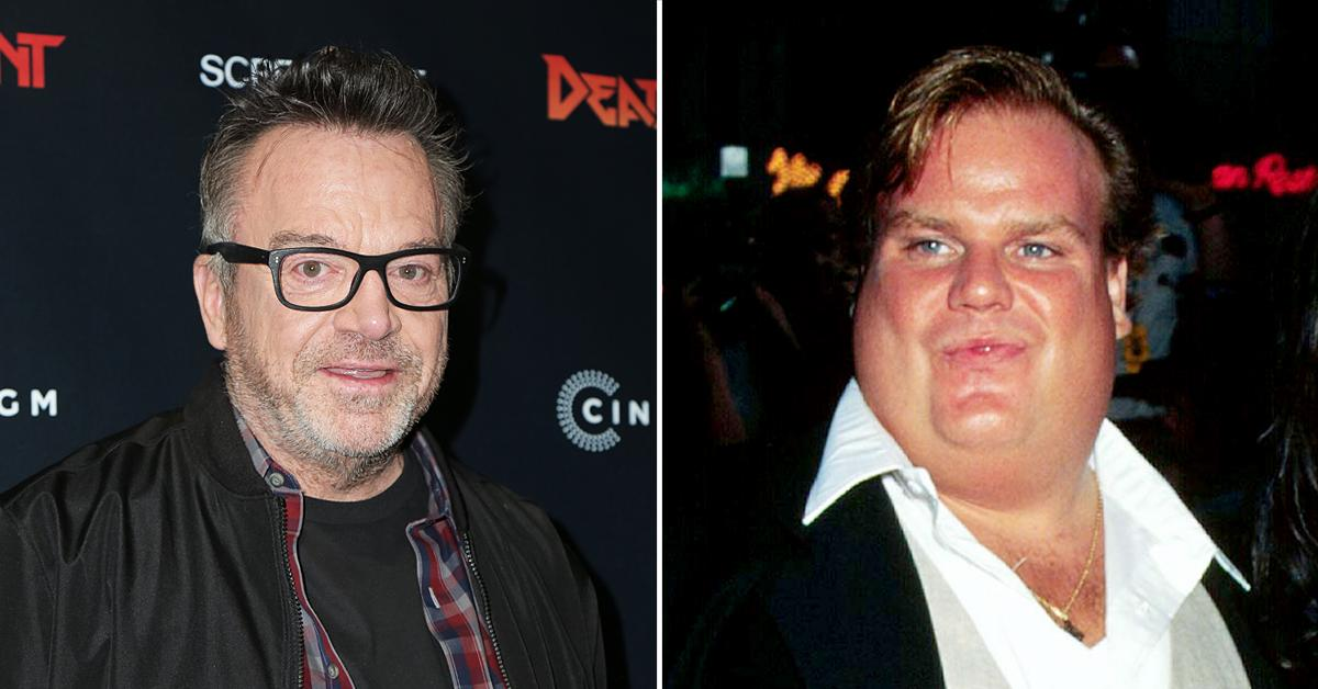 tom arnold reveals he was chris farleys sponsor for a few years