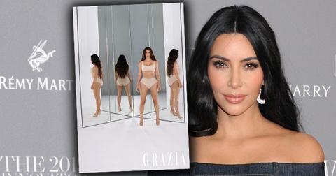 //kim kardashian stuns photos grazia magazine pf