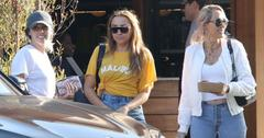 Miley Cyrus Sister Brandi Mom Tish Photos Long