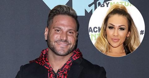 Ronnie Ortiz-Magro Red Carpet Jen Harley At Event Toxic Relationships