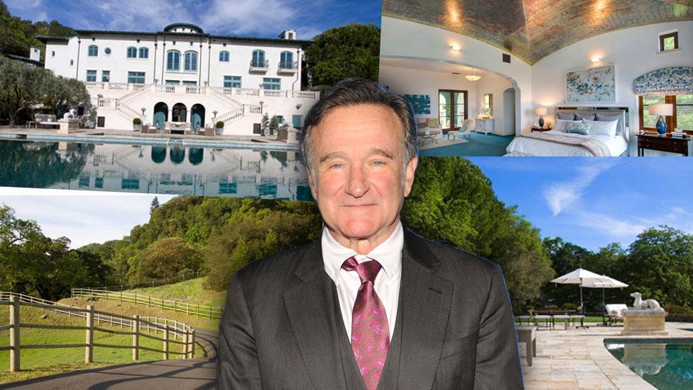 robin williams napa valley estate sold