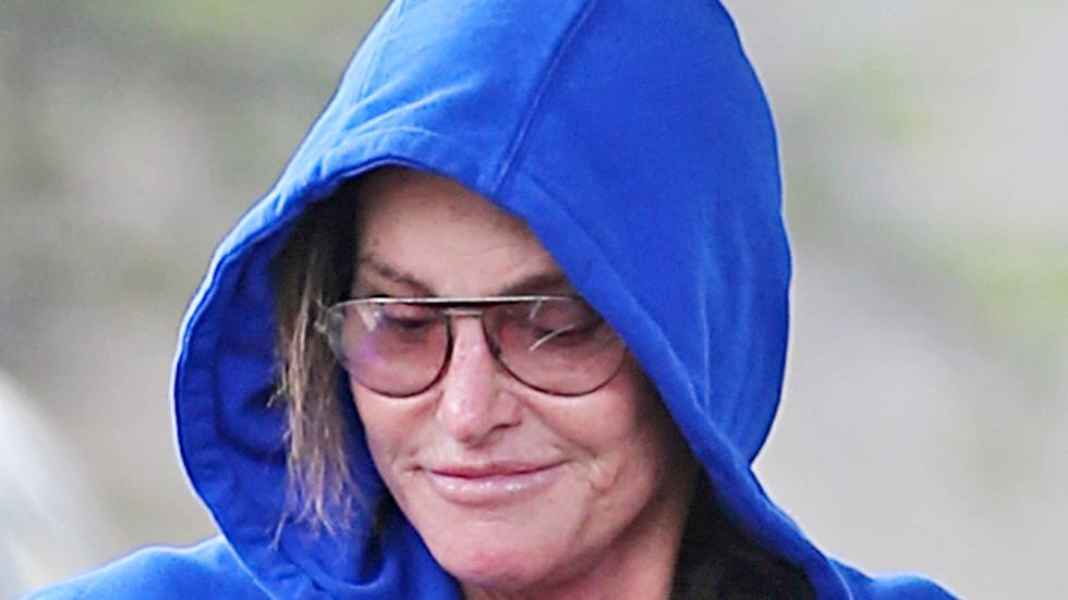 EXCLUSIVE: **PREMIUM RATES APPLY** Smiling Bruce Jenner looks happy the morning after Diane Sawyer interview aired