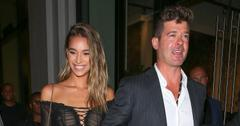 Robin Thicke Baby Girl Girlfriend April Love Geary PP