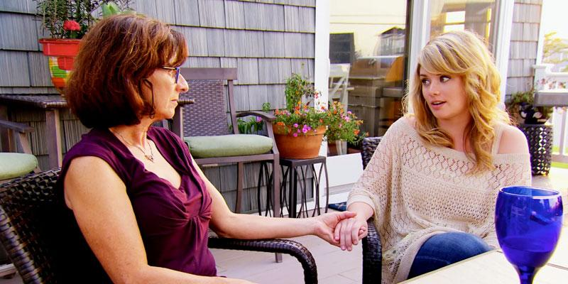 married at first sight kate luke's mom talk