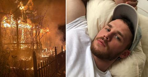 gay pornstar matthew camp home fire arsonist hate crime photos pf