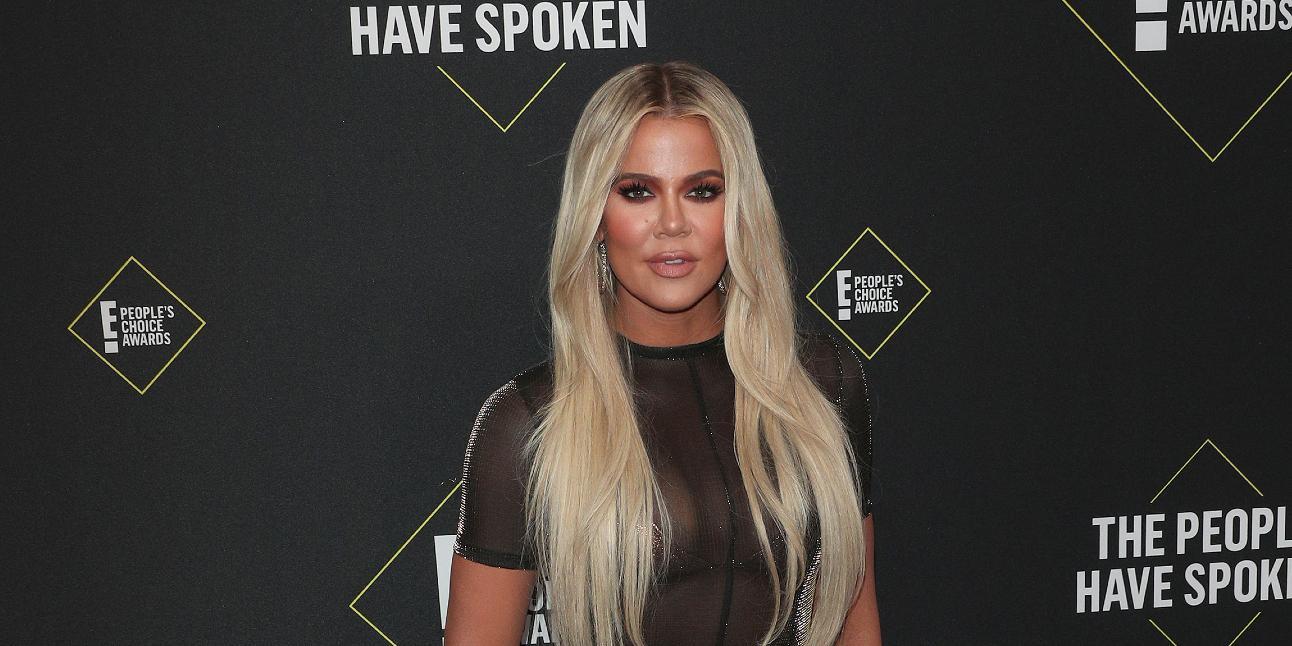 Khloé Kardashian at the 2019 People's Choice Awards