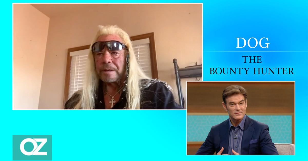 'I Couldn't Even Get Out Of Bed': Dog The Bounty Hunter Discusses Terrifying COVID-19 Scare With Dr. Oz