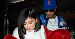 Kylie Jenner Heads Out For Valentine's Day With Tyga In NYC